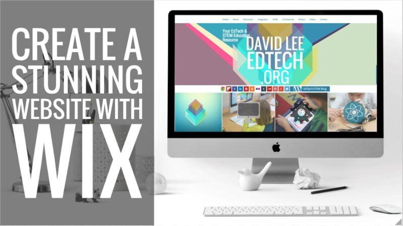 Skapa en gratis bloggsida med Wix.com