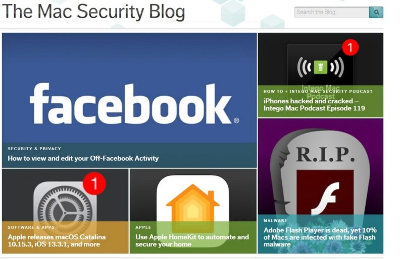 En recension av Intego.com Security blog